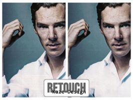 Retouch Benedict Cumberbatch by azy0