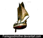 Flying Ship FGM 1002 by FairieGoodMother