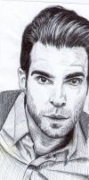Zachary Quinto by MCRObsessedFrankFan