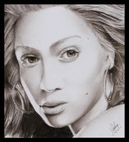 Beyonce' Knowles 2 by RighteousVampire