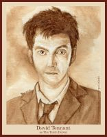David Tennant as The Tenth Doctor by strryeyedreamr27