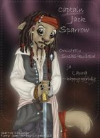 Captain Jack Sparrow by shebacub