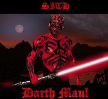 Darth Maul by AG88