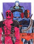 Cobra Commander and His Generals by MichaelPowellArt