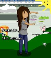 1111 Watchers :D by Y0S0yMar