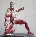 The Armored Titan custom figure by gaudiamo