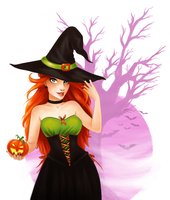 Trick or Pumpkin by Saaally