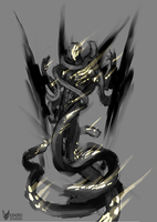 Nocturne Skin Idea Sketch ( Blight Fall Nocturne ) by Kanoro-Studio