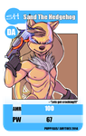 TCG Sand The Hedgehog Con Badge by AmyToes