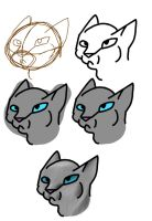 Cat tutorial (procreate) by Vincenttheawesome