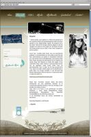 Website for dutch singer by D72