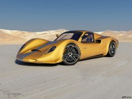 Porsche 906 Concept 3 by cipriany