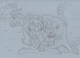 melissa and nite at chao garden by sonicxmelissa302