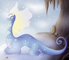 Aurorus by NightrueSpirit