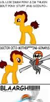 Doctor Octogonapus Pony by TheHappySpaceman01