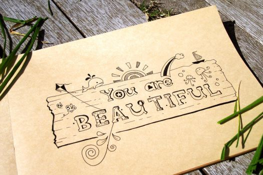 You are beautiful by 23bigideas