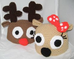 Rudolph and Clarice by rainbowdreamfactory