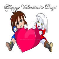 Happy Valentine`s Day by Reenave