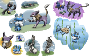 PKMNation pokemon levels by kitzune-griffith