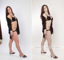 Christine before and after I by DerekEmmons