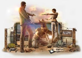Sign Call of Juarez by ZecaLineArts