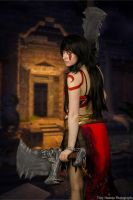 Kratos Goddess of War Cosplay 4 by HaleyHelloKitty