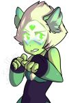 Kitty-Peridot by JunoMaussi