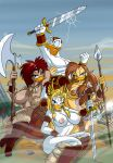 Donald the Barbarbarian by Lordstevie