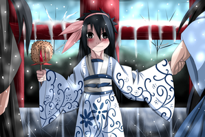 ::Her First Snow Festival:: by itasasu2002