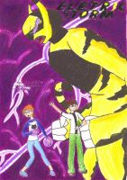 Ben 10 Electric Storm Comic Cover by Crazy-Brave-Girl