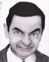 Mr Bean by artechx