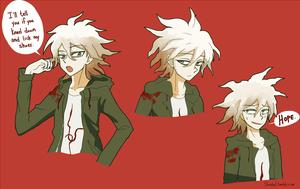 Komaeda by sheebal