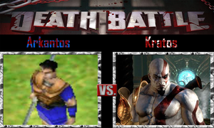 Arkantos vs Kratos