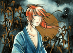 Rurouni Kenshin : Golden Moon by Tiara-C