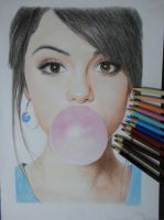 selena  gomez full by Zombieyue
