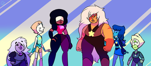 SU - we are the crystal gems by hateful-minds