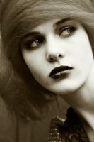 Sepia Stare by Poppet-Pictures