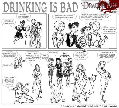 DAO: Drinking is bad by SoniaCarreras