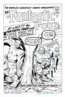 FANTASTIC FOUR #12 Cover Recreation HULK $180 by DRHazlewood