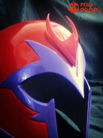 Magneto red helmet _04 by raultumba
