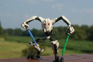 Clay General Grevious by The-Wizard-WhoDid-it