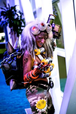 OverWatch: Junkrat Cosplay by MakeupSiren