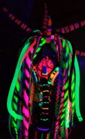 Rainbow cybergoth raver outfit - 7 by German-Blood