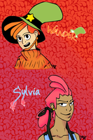 Wander and Slyvia Humanized by Temarigirl1600