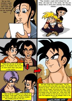 Dragonball Comic: the legend of Mr. Satan page 101 by RastaSaiyaman