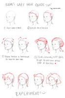 Kami's Lazy Hair Guide-ish by kamidoodles