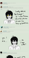 Ask Jeff the killer answered 3 by Sohiee