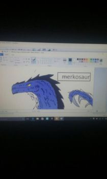 Microsoft paint by TheRaptorDude