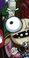 Squee Invader Zim Mix. by pokeguy556