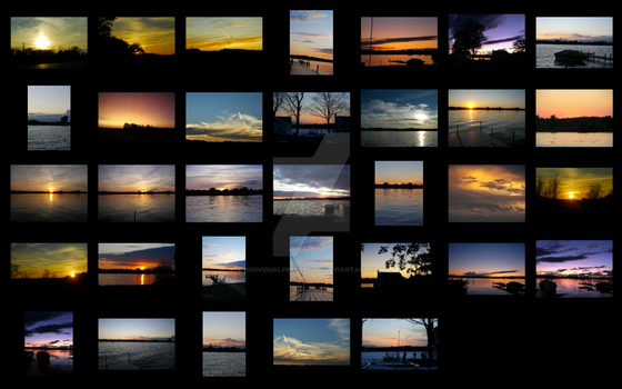 Sunsets Collage by IndividualPerception